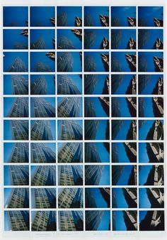 building by Maurizio Galimberti Multiple Images, Conceptual Photography, Triptych, Photomontage, Shades Of Blue, Art Inspo, Gcse 2015, Fine Art, Wall Art