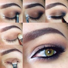 Tutorial Time   Inspired by @maya_mia_y  and like I said before, this was really easy to do, I'll explain step by step but ask me any questions if you have any... Ok, let's  get started.  1.First I do my eyebrows, used @anastasiabeverlyhills  Brow Powder in 'Chocolate' used the lighter shade only...