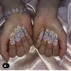 👌The best nail art products 💅 - stylish gorgeous glam natural nail art design polish manicure gel painting creative color - Bright Summer Acrylic Nails, Best Acrylic Nails, Acrylic Nail Designs, Nail Art Designs, Nails Design, Ongles Bling Bling, Bling Nails, Gold Stiletto Nails, Glittery Nails