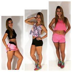Um pouco do que vem por aí! A pedidos de nossos clientes: short saia tecido bolha, camisetas e short de corrida. Gostaram?