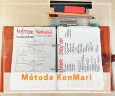 Método KonMari o el arte del katazuke en mi BuJo
