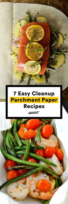 So THAT'S what you use parchment paper for. #greatist http://greatist.com/eat/en-papillote-recipes-using-parchment-paper