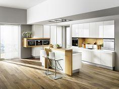 breitschopf macht ihre küche   → linea foresto weiß hochglanz ... - Linea Die Küche