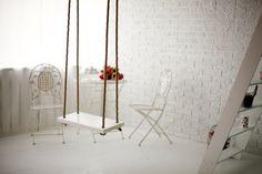 Белый интерьер в нашей фотостудии.