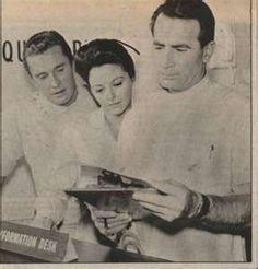 Beginning of General Hospital. Dr. Steve Hardy and Nurse (I forget her name) :(