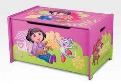 Delta Children's Products - Dora Toy Box