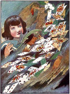 Alice in Wonderland illustration - Charles Robinson 1907 | Flickr