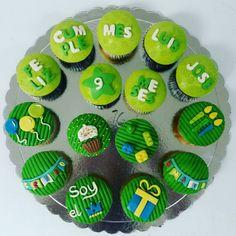 Así celebró Luis José sus 9 Meses al mejor estilo #cupcakegourmet.  #cupcakes #magdalenas #poz #pzo #ciudadguayana #igersguayana #bakery #birthday #pasteleriaamericana #adictoacupcakegourmet