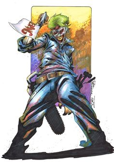 Joker by Rafa Sandoval