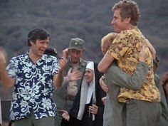 M*A*S*H: Season Episode 16 Bulletin Board Jan. Best Tv Shows, Favorite Tv Shows, Favorite Things, Movies Showing, Movies And Tv Shows, Mash Characters, Alan Alda Mash, Wayne Rogers, Mash 4077