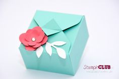 DSC_2193 Stampin Up Box Verpackung Envelope Punch Board Stanz- und Falzbrett für Umschläge Sizzix Little Leaves Floral Fusion