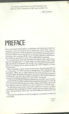 .preface of Queen Marys doll house