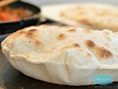 Flour Tortillas Wraps with 2 Ingredients
