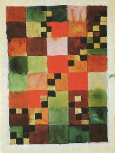 Colour study, undated. Free artistic work | Gunta Stölzl (1897-1983) | Bauhaus Weimar 1919-1925 | Private collection