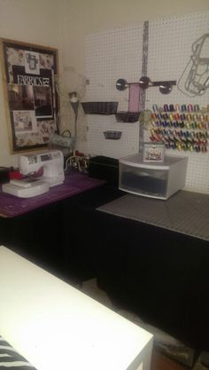 My New Craft Studio  Embroidery and cutting station