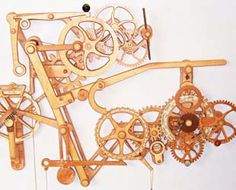 Wooden clocks parts | Wooden clock kits, movements, gears for sale