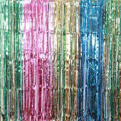 Foil Curtain, Bay Photo, Photo Booth Backdrop, Byron Bay, Gold Coast, Backdrops, Abstract, Artwork, Summary