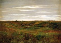 Cave to Canvas, William Merritt Chase, Landscape: A Shinnecock...