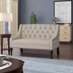 Charlton Home Mccue Settee Sectional Sale, Decor, Armchairs For Sale, Livingroom Layout, Furniture, Settee, Traditional Loveseat, Love Seat, Stylish Furniture