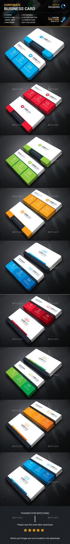 Business Card Bundle Templates PSD. Download here: http://graphicriver.net/item/business-card-bundle/16340927?ref=ksioks