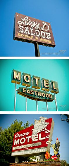 Vintage Sign Photography