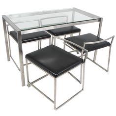 Lumisource Fuji Dinette Set - 5 Piece