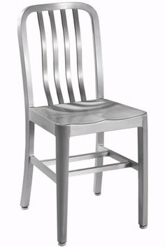 Sandra Side Chair with Aluminum Seat - Dining Chairs - Kitchen Furniture - Furniture | HomeDecorators.com