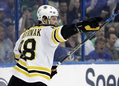 2bcd0c18bd8db Boston Bruins right wing David Pastrnak (88)