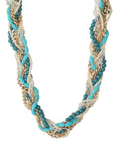 Braided Chain Necklace  $7.80