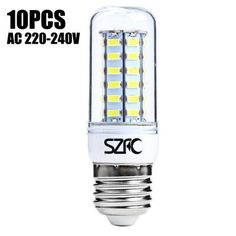 10 x SZFC 5W E27 SMD 5730 460LM LED Corn Light-15.16 and Free Shipping| GearBest.com