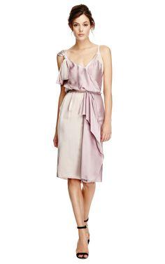 Silk-Satin Draped Dress by Nina Ricci Now Available on Moda Operandi