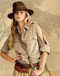 just because I'm so obsessed with Indy, I would totally wear this!