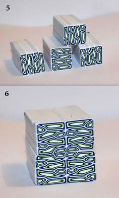 "Cane ""labyrinthe design"" par Artizanart"