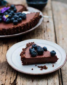 Chocolate Ganache Tart (Vegan & Gluten free)