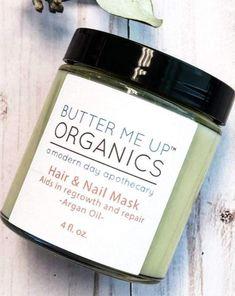 Organic Hair & Nail Mask