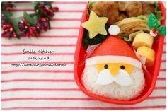 【クリスマス♪サンタさんのお弁当】|Mai's スマイル*キッチン