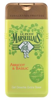 Le Petit Marseillais makes the best shower gel with a light Basil & Apricot scent. I find them at Jean Coutu pharmacies.