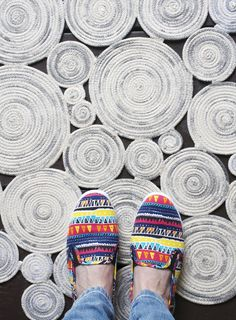 Summery Style: 9 DIY Rope Rug Projects to Try                                                                                                                                                      More