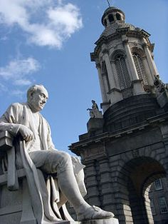 Trinity College Dublin . . .home to the Book of Kells