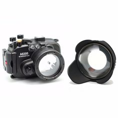 290.00$  Watch now - http://ali2lt.shopchina.info/go.php?t=32665023688 - Meikon 130ft Underwater Camera Housing Case for sony A6300 Camera + Wide Angle Dome Port lens + 67mm red filter 290.00$ #aliexpressideas