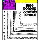Enjoy these 12 {FREE} doodle borders for your lesson materials and TpT products! All images are in png formats so they can easily be layered in y...