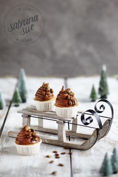 Maronen Cupcakes mit gerösteten Kürbiskernen by www.sabrinasue.de