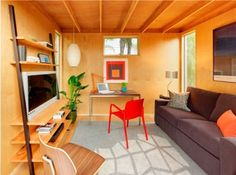 Flexa Studio: A Modern Off-The-Rack Green Garden Office : TreeHugger