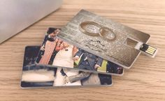 Wafer USB Card - perfect to store wedding pic's & a gift to give everyone as their favor!