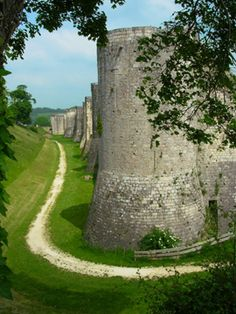 Medieval Walls of Provins, France, the Wall City of Seine et Marne east of Paris