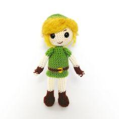 Link amigurumi by Jequila