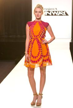 Project Runway Season 12 - Southern Belle Challenge (what a crap challenge!) - Kate