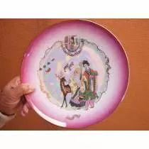Prato Antigo Década 60 Porcelana Steatita
