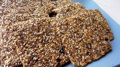 chia crackers recipe--just keep scrolling down, you'll get there! Raw Vegan Recipes, Vegan Food, Yummy Recipes, Chia Crackers Recipe, Tasty, Yummy Food, Organic Seeds, Chia Seeds, Meal Prep