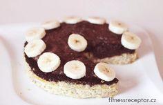 Tvarohovo-banánový dort s chia (bez mouky)